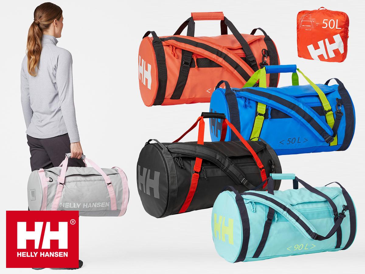 Helly Hansen DUFFEL BAG 2 utazótáska 30, 50, 70 és 90 literes méretben, strapabíró vízálló anyagból - készletről is!