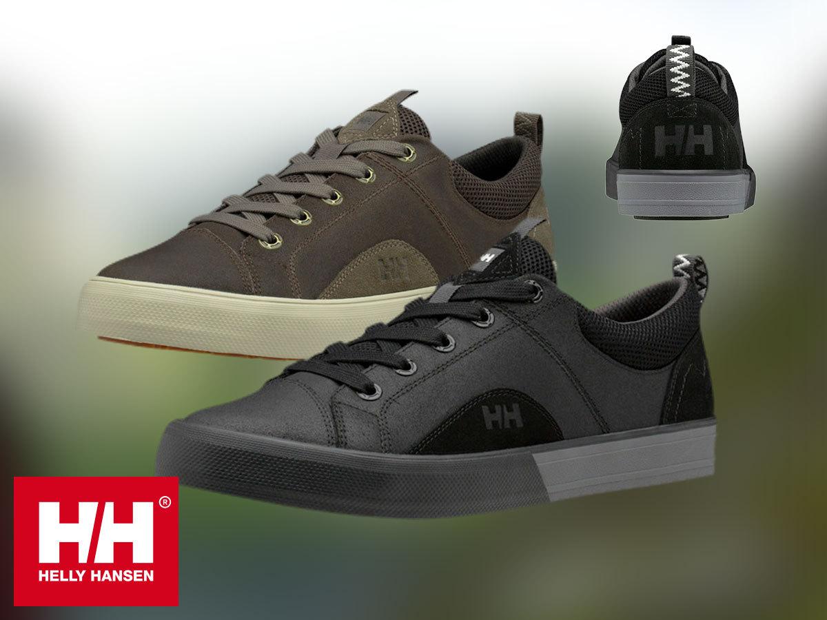 Helly Hansen HAWTHORNE stílusos bőr sportcipő férfiaknak, kényelmes EVA talpbetéttel (40-48 méretben)
