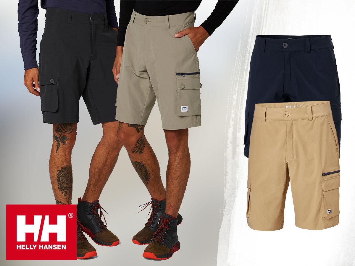 Helly Hansen MARIDALEN SHORTS - klasszikus, tartós outdoor rövidnadrág férfiaknak szabadtéri kalandokhoz
