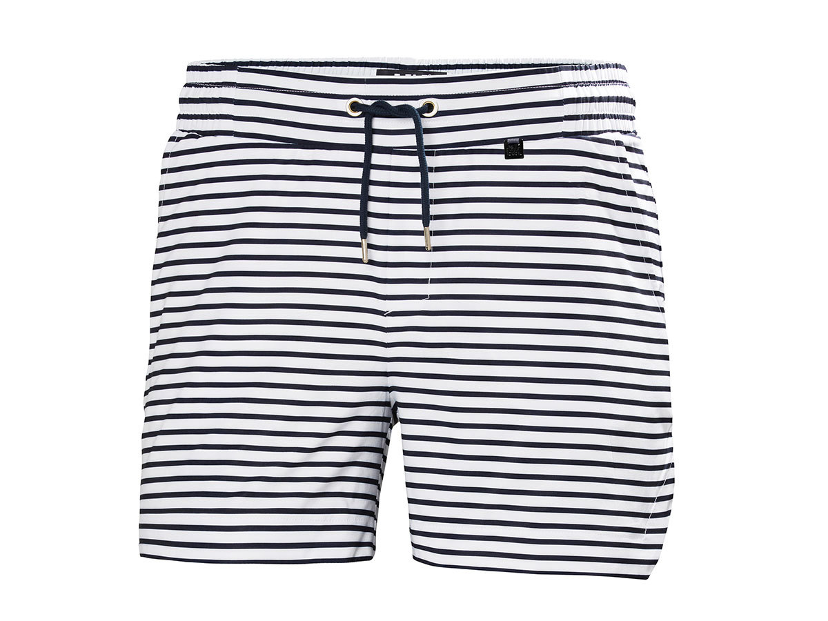 Helly Hansen W THALIA 2 SHORTS - NAVY STRIPE - L (53056_595-L )