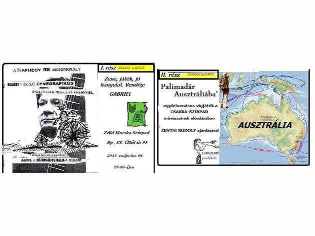 A Naphegy téri motor király, Palimadár Ausztráliában