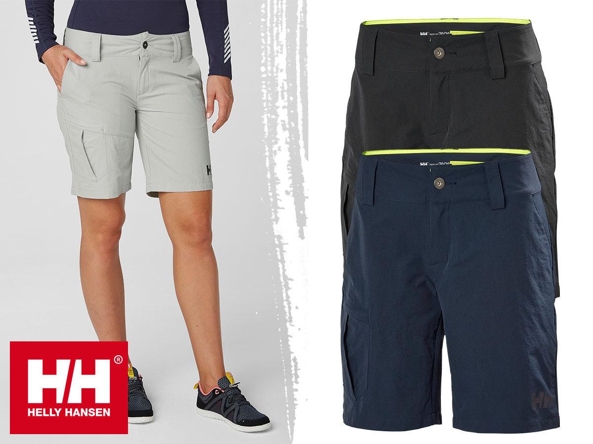 Helly Hansen W QD CARGO SHORTS - outdoor rövidnadrág nőknek gyorsan száradó szövetből, UPF 40+