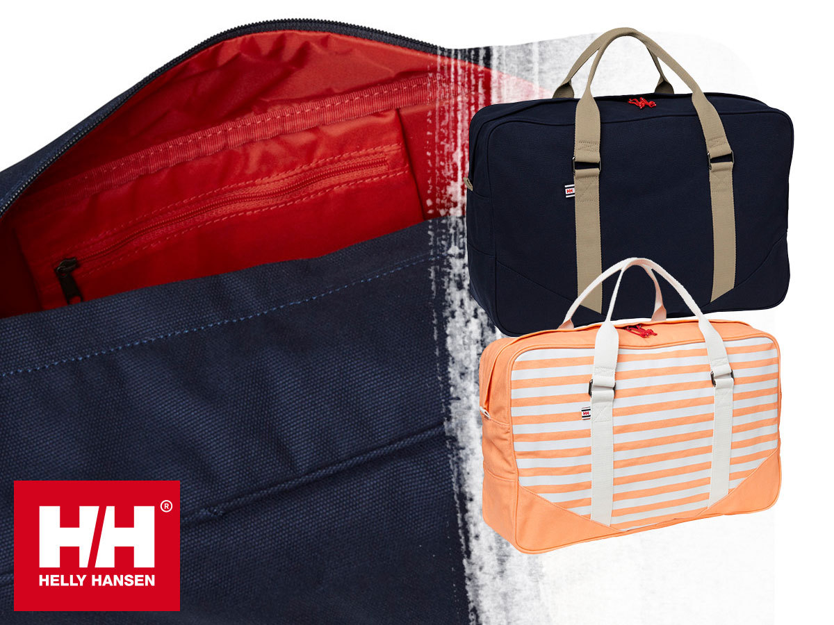 Helly Hansen MARINE BAG táska tartós pamut vászon anyagból (kb. 33L) - vízparti kalandokhoz, hétvégi utazásokhoz