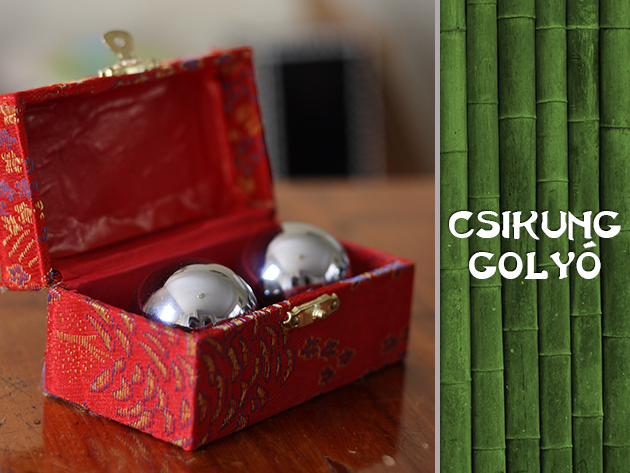 A tradícionális kínai Csikung golyók használata megnyugtat és jótékonyan hat a szervezetedre is!