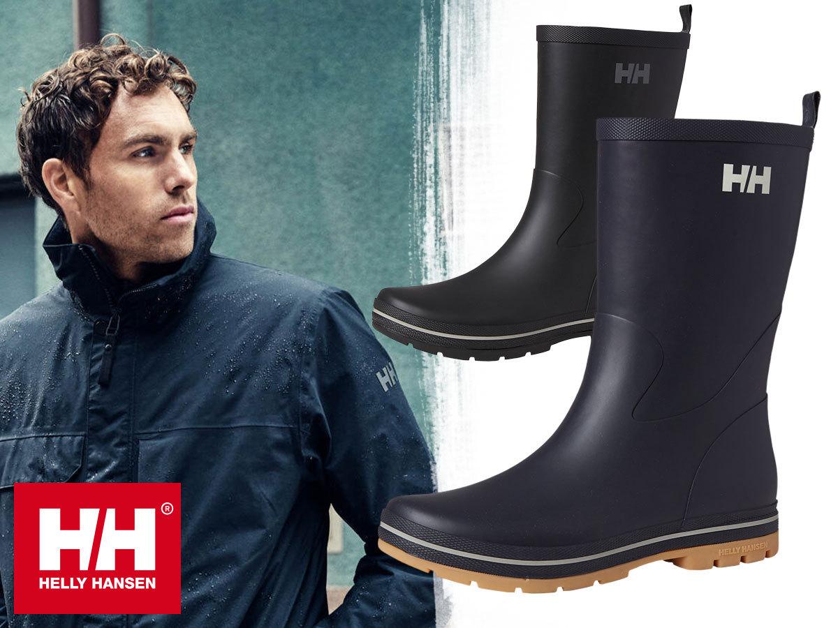 Helly Hansen MIDSUND 3 férfi gumicsizma az esős napokra - kényelmes, strapabíró, divatos