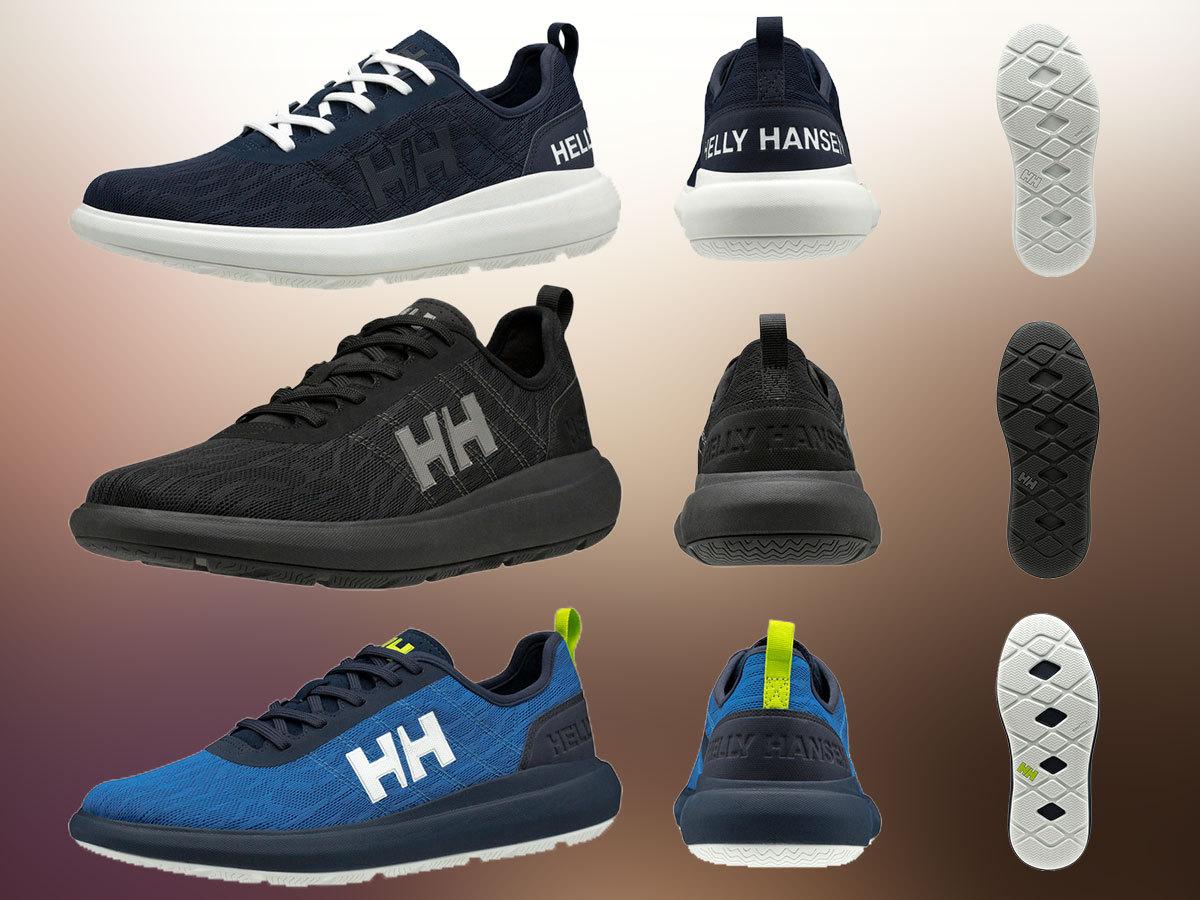 Helly Hansen SPINDRIFT SHOE V2 sokoldalú férfi sportcipő, sneaker - hidrofób, lélegző felső résszel, kitűnő tapadással