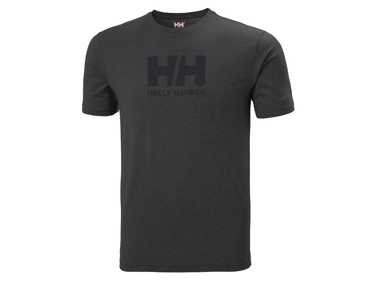 Helly Hansen HH LOGO T-SHIRT - EBONY MELANGE - XXL (33979_982-2XL )