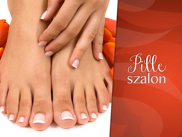 Szépítsd meg tavaszra a lábaidat! Pedikűr csomag esztétikai kezelésekkel és masszázzsal 2.176 Ft-ért!