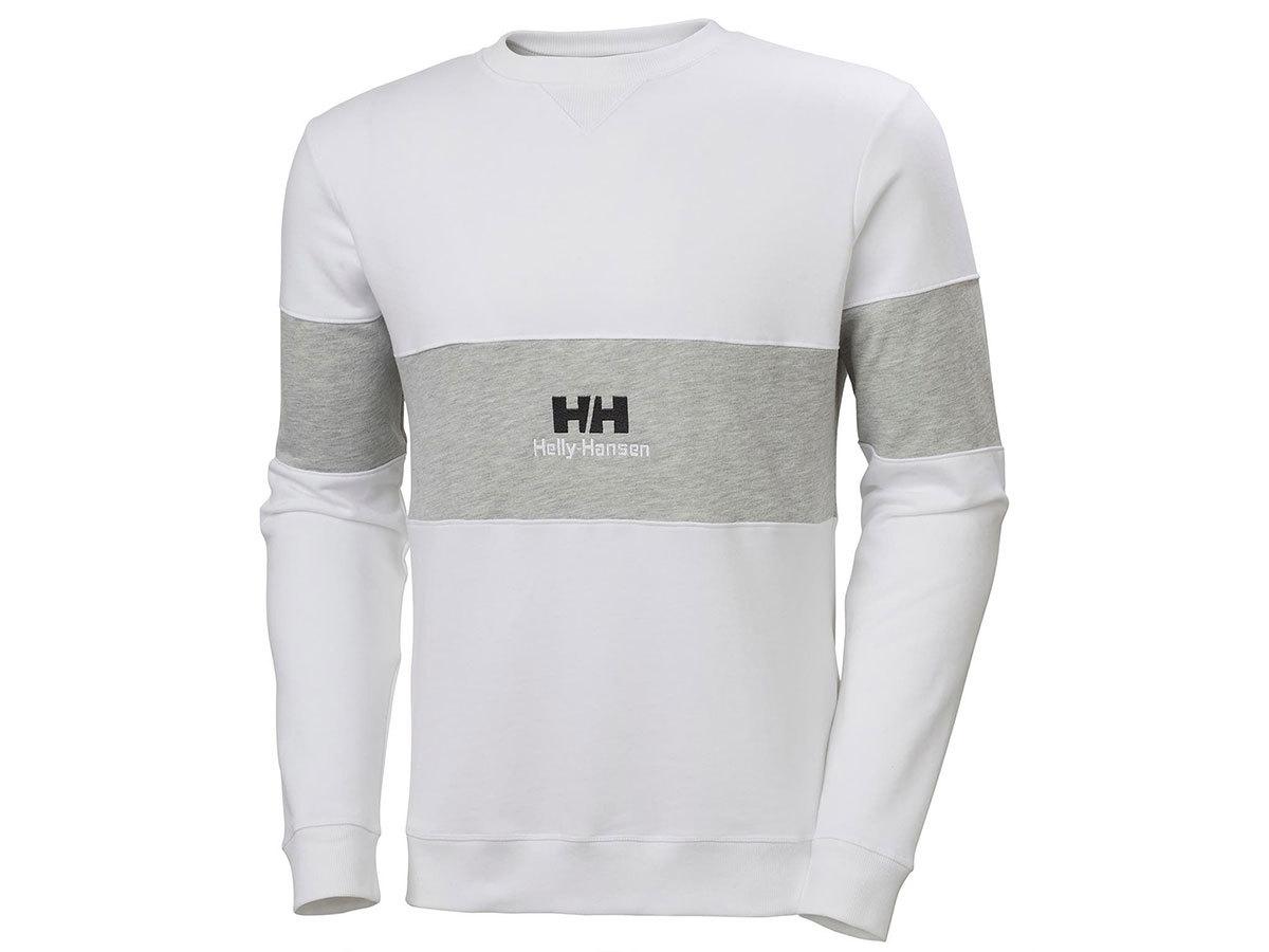 Helly Hansen YU20 CREW NECK SWEAT - WHITE - L (53457_001-L )