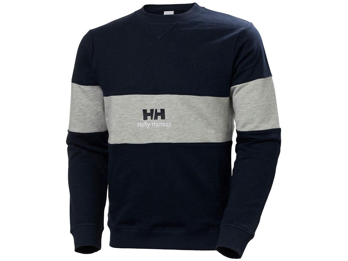 Helly Hansen YU20 CREW NECK SWEAT - NAVY - S (53457_597-S )