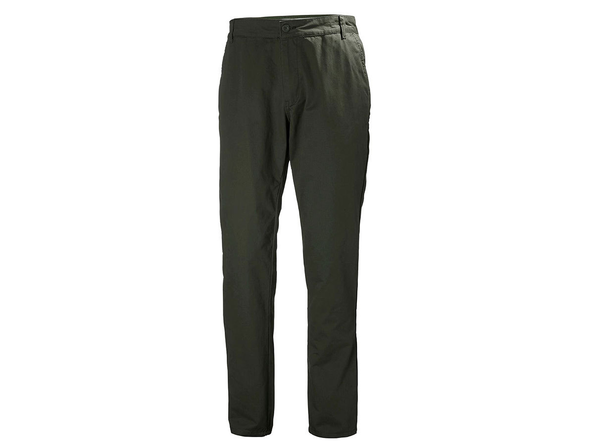 Helly Hansen CREW CHINOS - FOREST NIGHT - 34 (34126_469-34 )