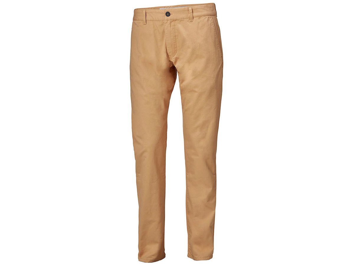Helly Hansen CREW CHINOS - ICED COFFEE - 33 (34126_702-33 )