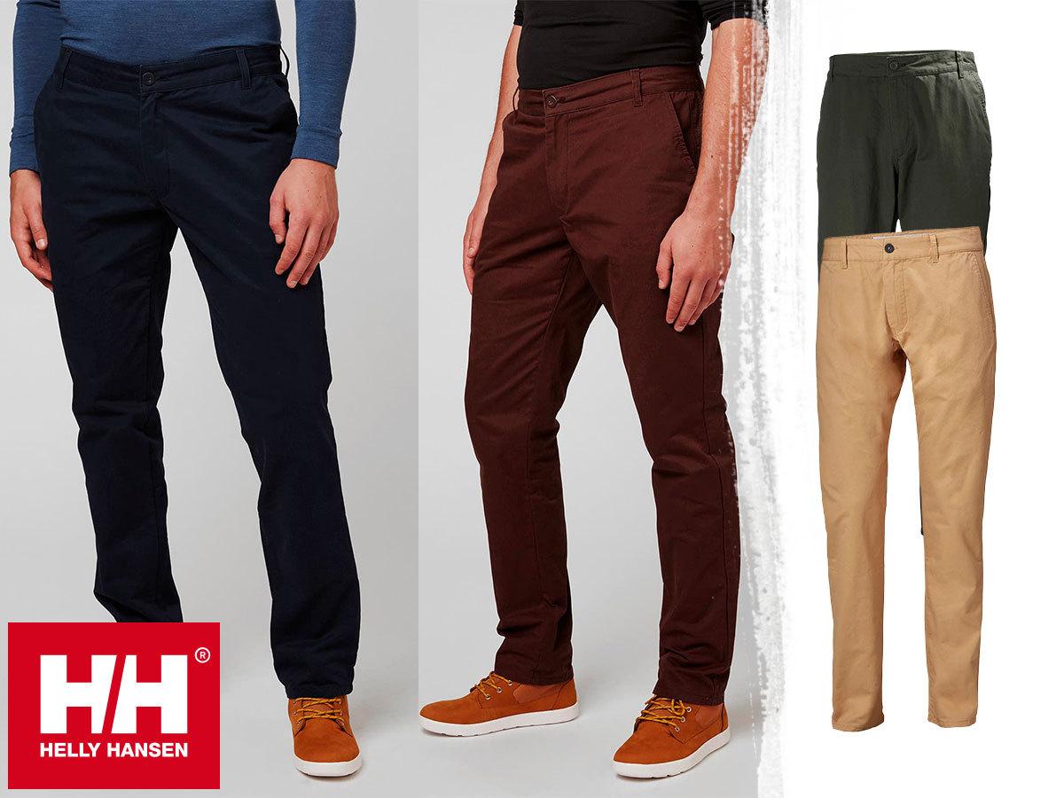 Helly Hansen CREW CHINOS férfi nadrág pamut anyagból - sokoldalú, kényelmes viselet tengerész stílusban