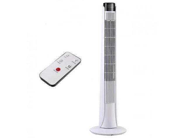 Oszlop ventilátor - HOP1001098-2  fehér