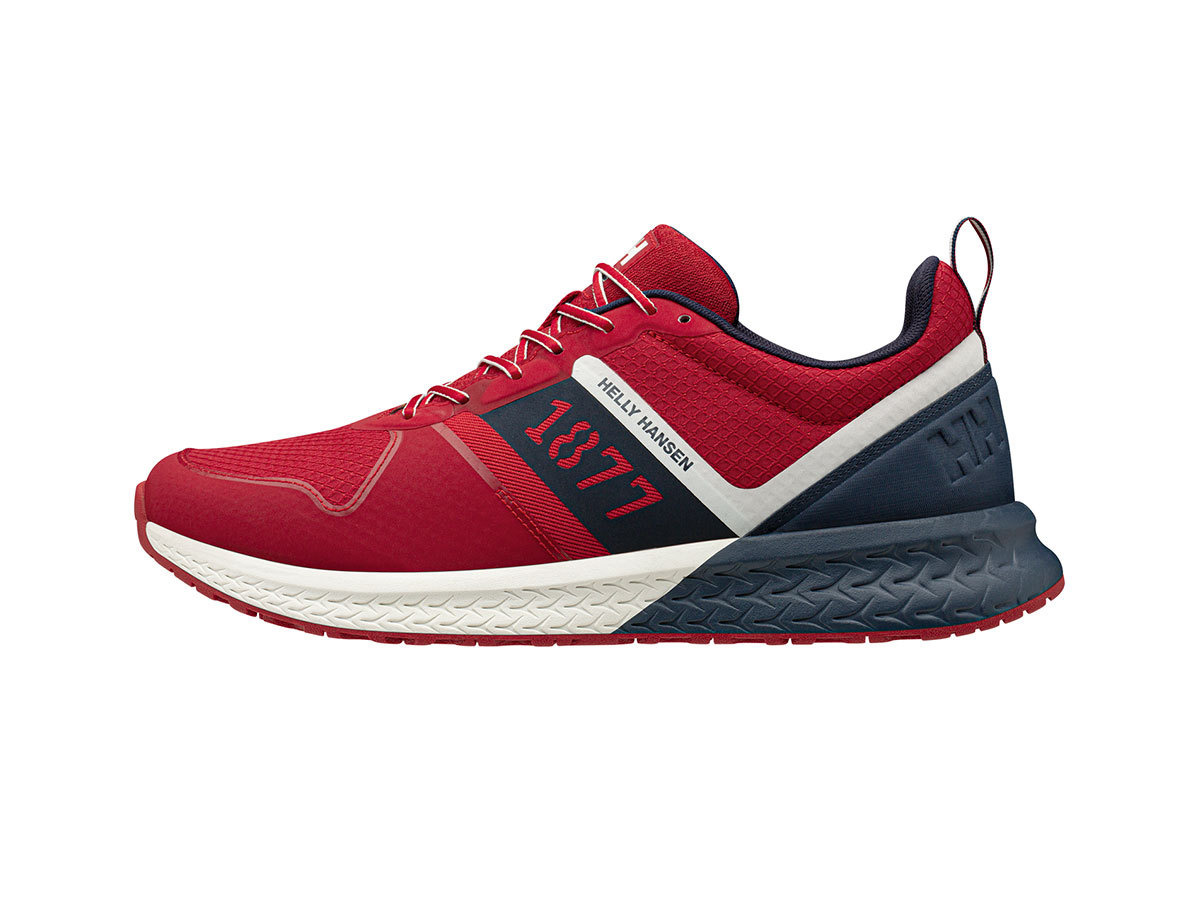 Helly Hansen ALBY 1877 LOW - RED / OFF WHITE / NAVY - EU 48/US 13 (11621_162-13 )