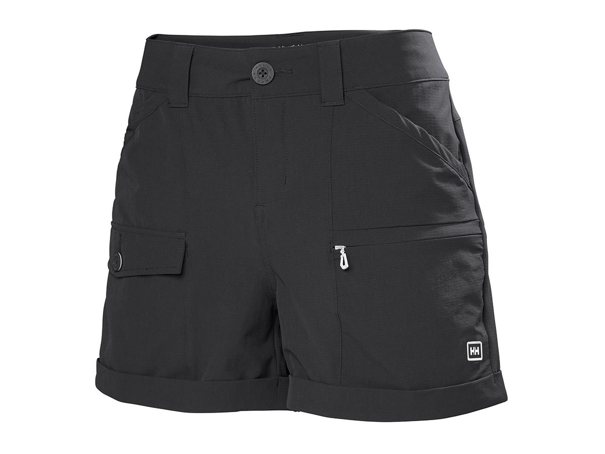 Helly Hansen W MARIDALEN SHORTS - EBONY - XL (62872_980-XL )
