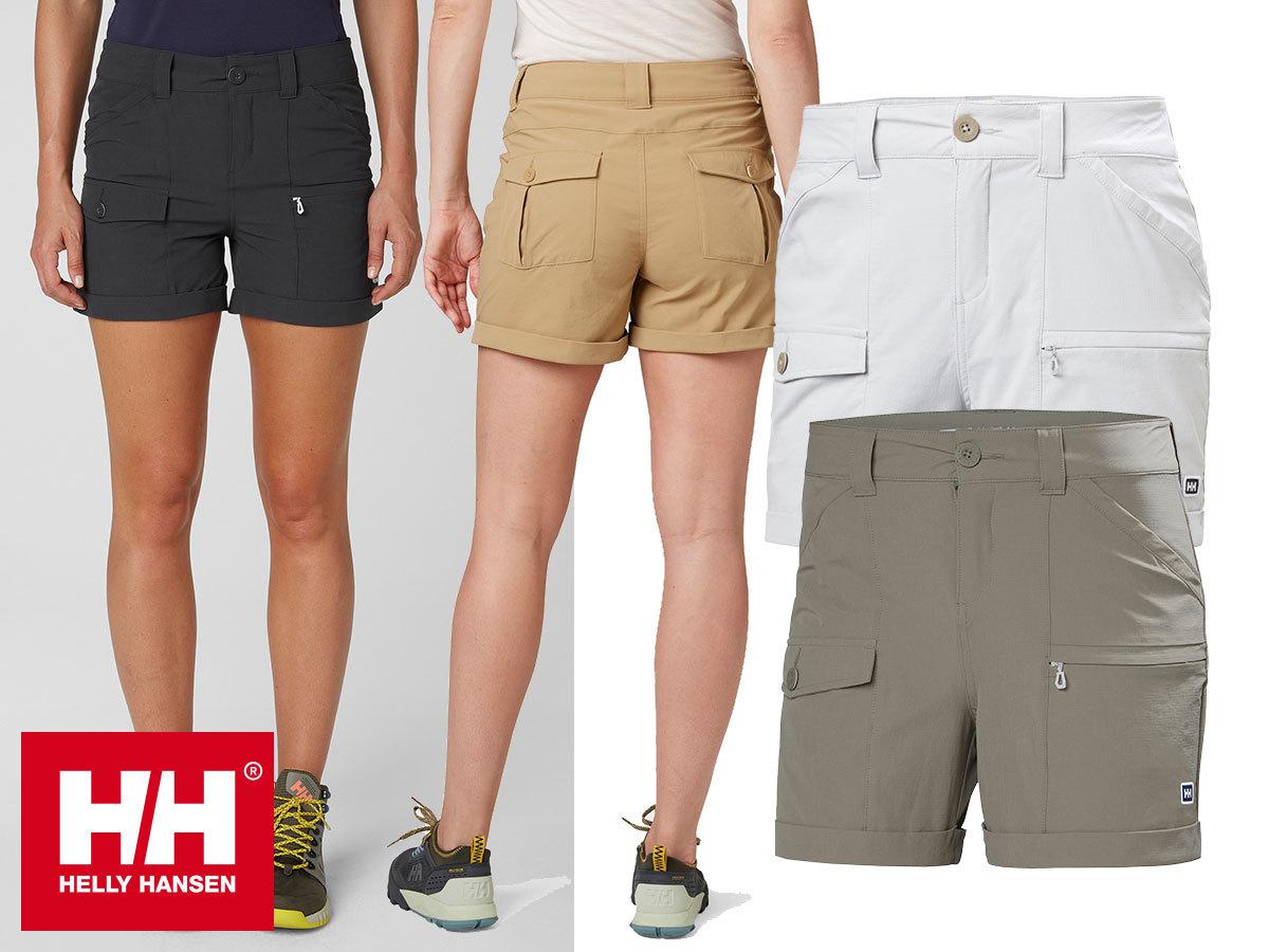 Helly Hansen W MARIDALEN SHORTS - klasszikus, tartós outdoor rövidnadrág nőknek, szabadtéri kalandokhoz