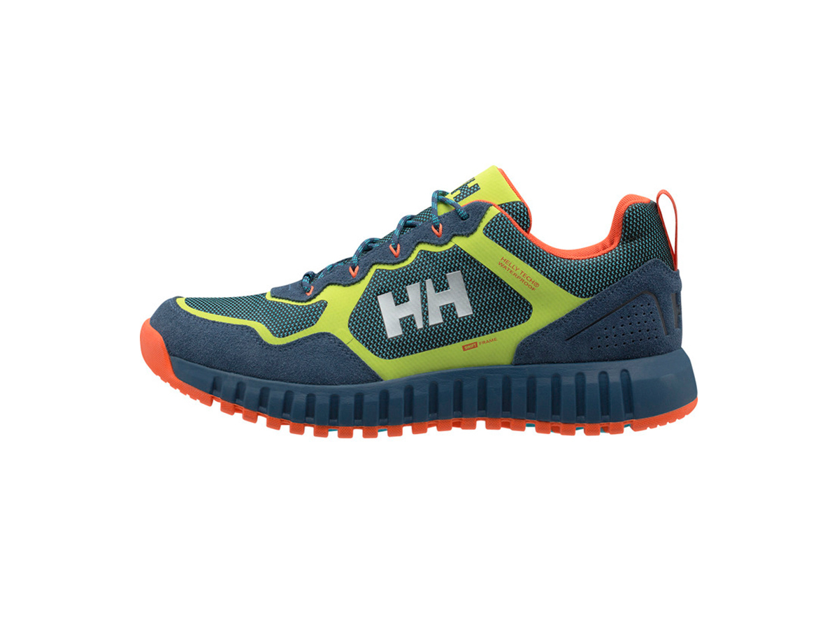 Helly Hansen MONASHEE ULLR LOW HT - NORTH SEA BLUE / AZID LIM - EU 42/US 8.5 (11464_603-8.5 )