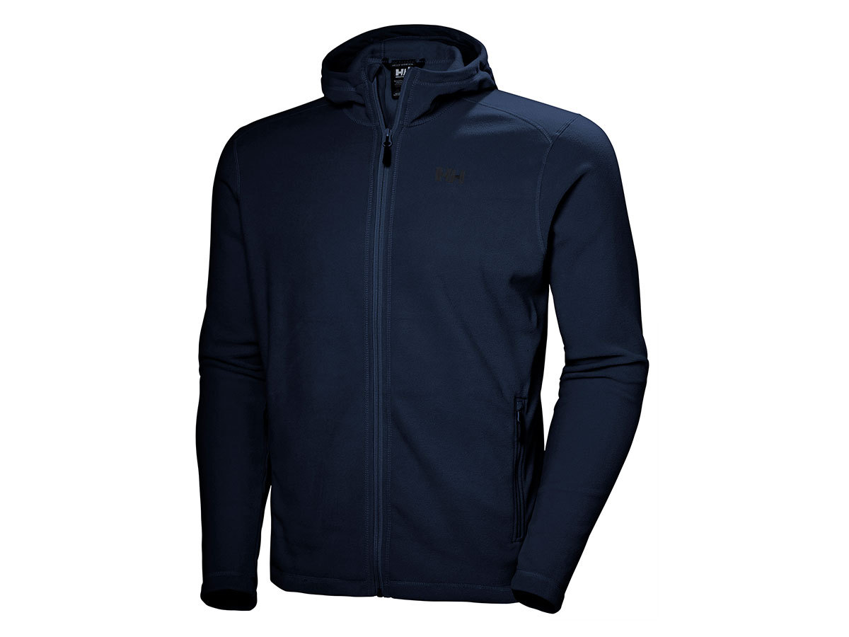 Helly Hansen DAYBREAKER HOODED FLEECE JACKE - NAVY - XXL (51869_597-2XL )