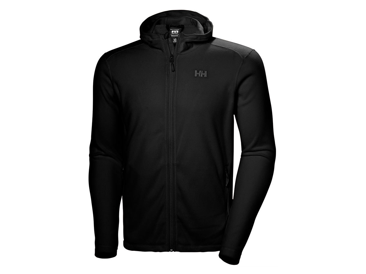 Helly Hansen DAYBREAKER HOODED FLEECE JACKE - BLACK - XL (51869_990-XL )