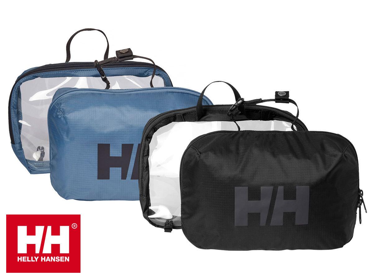 Helly Hansen EXPEDITION POUCH kisméretű utazó neszesszer - 2 részből áll, átlátszó rekesszel a folyékony termékek számára