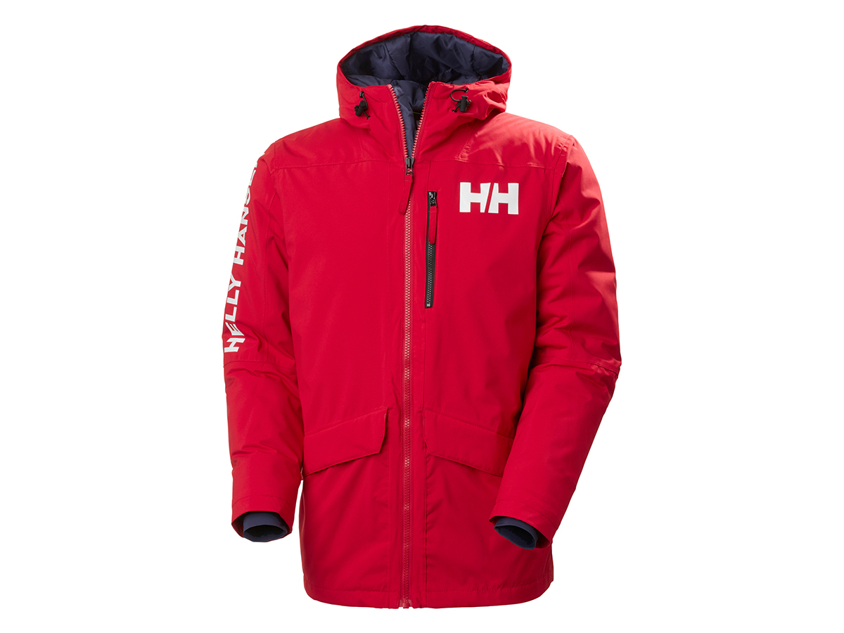 Helly Hansen ACTIVE FALL 2 PARKA - RED - L (53325_162-L )