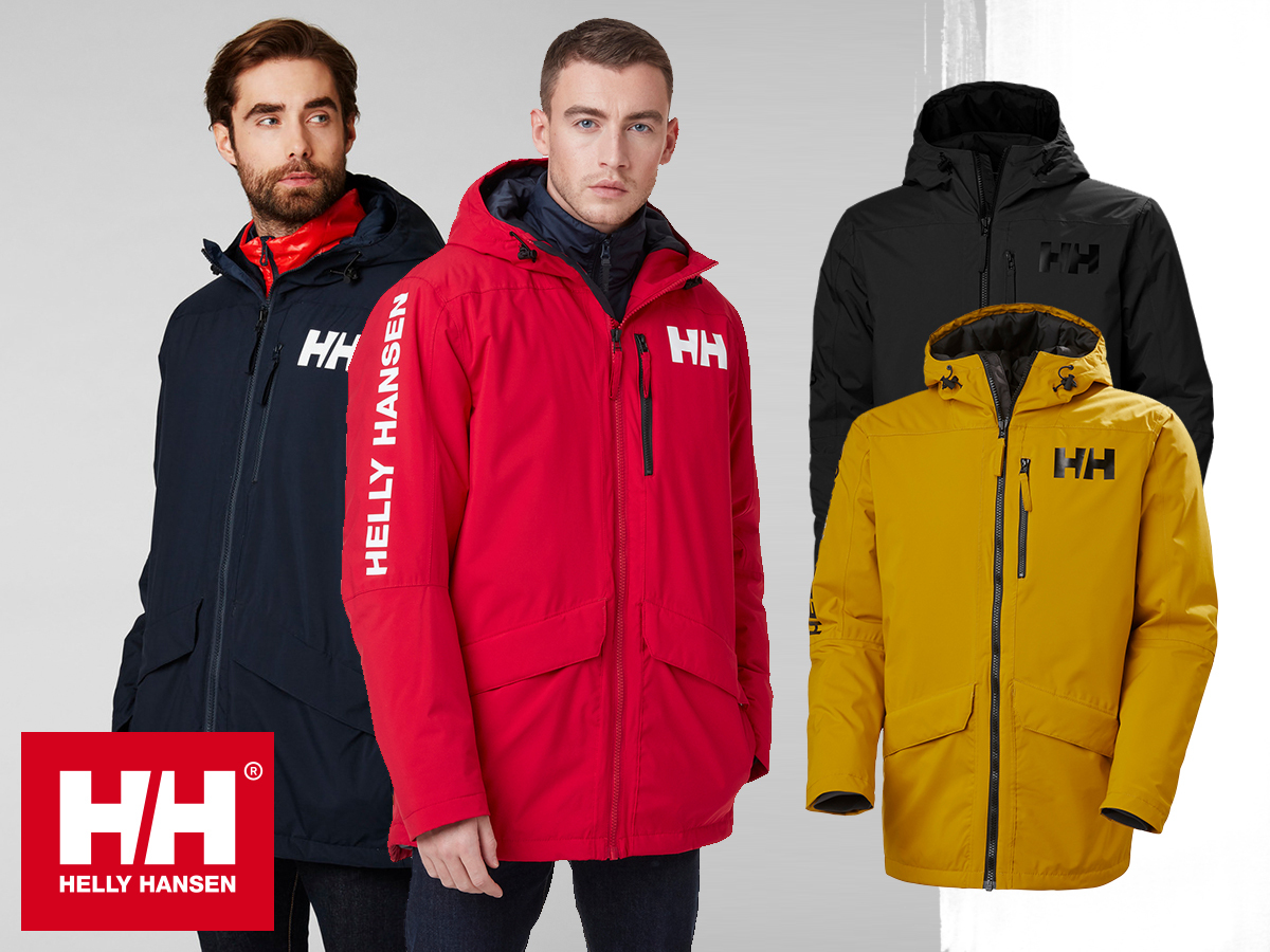 Helly Hansen ACTIVE FALL 2 PARKA prémium férfi kabát, Life Pocket ™ zsebbel, HELLY TECH® Protection védelemmel