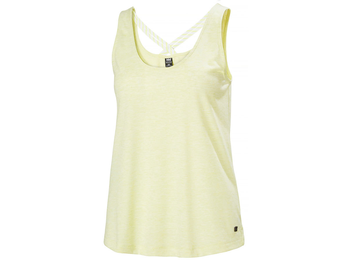 Helly Hansen W SIREN SPRING SINGLET - SUNNY LIME - XS (34086_379-XS )
