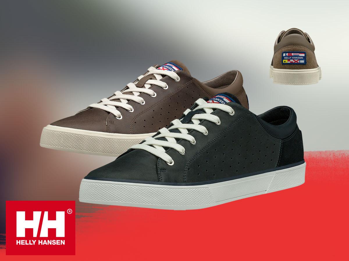 Helly Hansen COPENHAGEN LEATHER SHOE férfi átmeneti cipők prémium bőr felsőrésszel (40-48) - egyes termékek azonnal átvehetőek