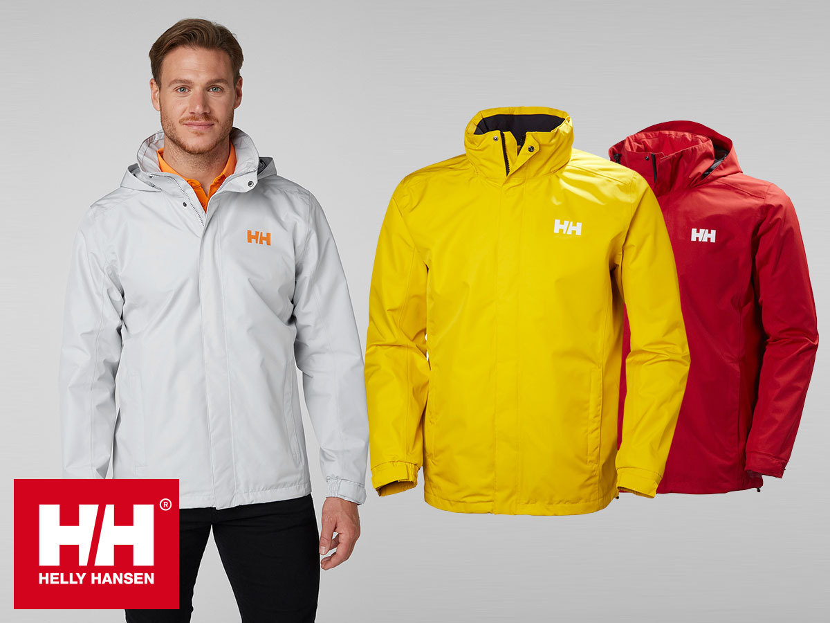 Helly Hansen DUBLINER JACKET sokoldalú férfi kabát Helly Tech® Protection technológiával - vízálló, szélálló, lélegző 30% kedvezménnyel