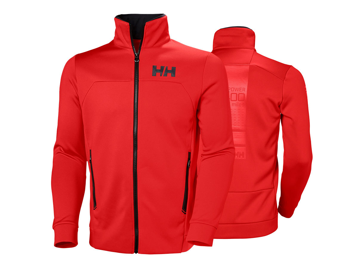Helly Hansen HP FLEECE JACKET - ALERT RED - XL (34043_222-XL )