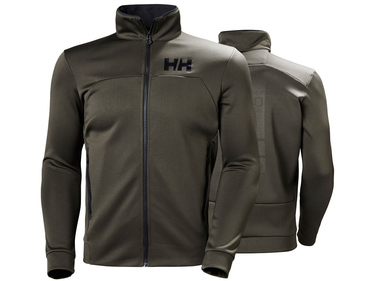 Helly Hansen HP FLEECE JACKET - BELUGA - XXL (34043_482-2XL )