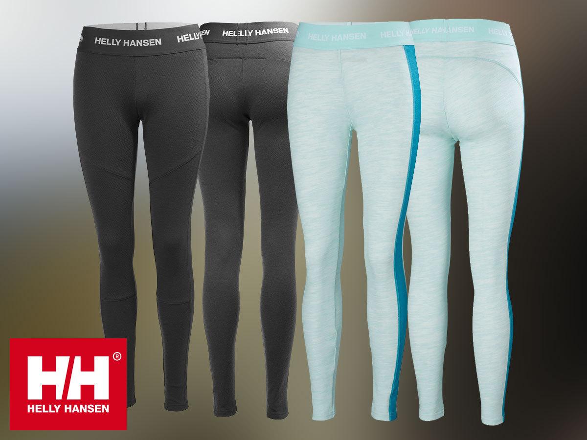 Helly Hansen W HH LIFA MERINO PANT női aláöltözet nadrág - Lifa®Stay Warm technológia, 100%-os tisztaságú merinó gyapjú és technikai anyag kombinációja