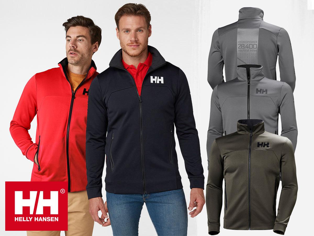 Helly Hansen HP FLEECE JACKET férfi polár felső prémium minőségben, magas nyakrésszel, rugalmas anyagból