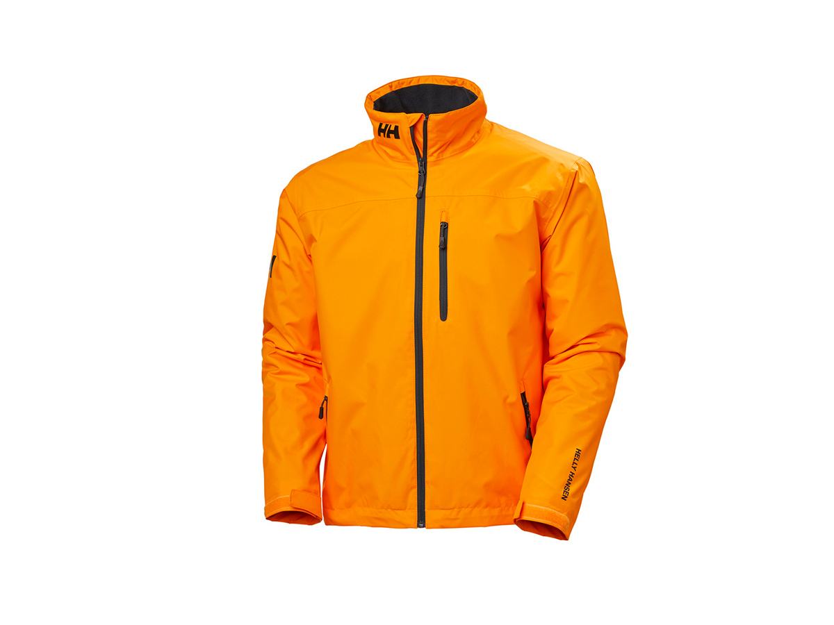Helly Hansen CREW MIDLAYER JACKET - PAPAYA - XS (30253_322-XS )