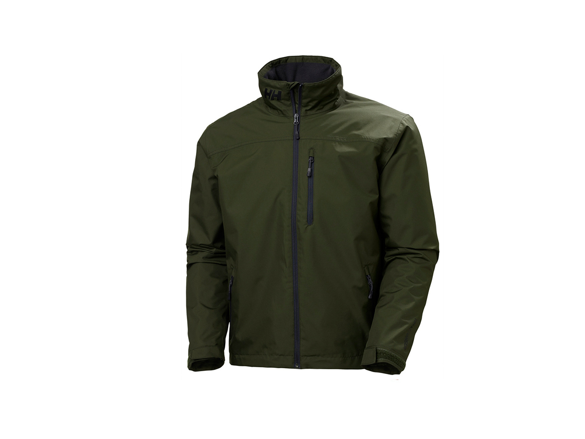 Helly Hansen CREW MIDLAYER JACKET - FOREST NIGHT - XL (30253_469-XL )