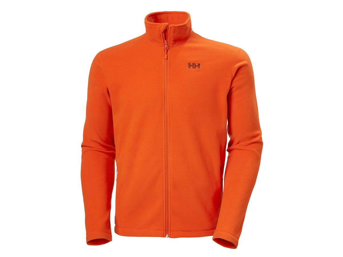 Helly Hansen DAYBREAKER FLEECE JACKET - PATROL ORANGE - XXL (51598_300-2XL )