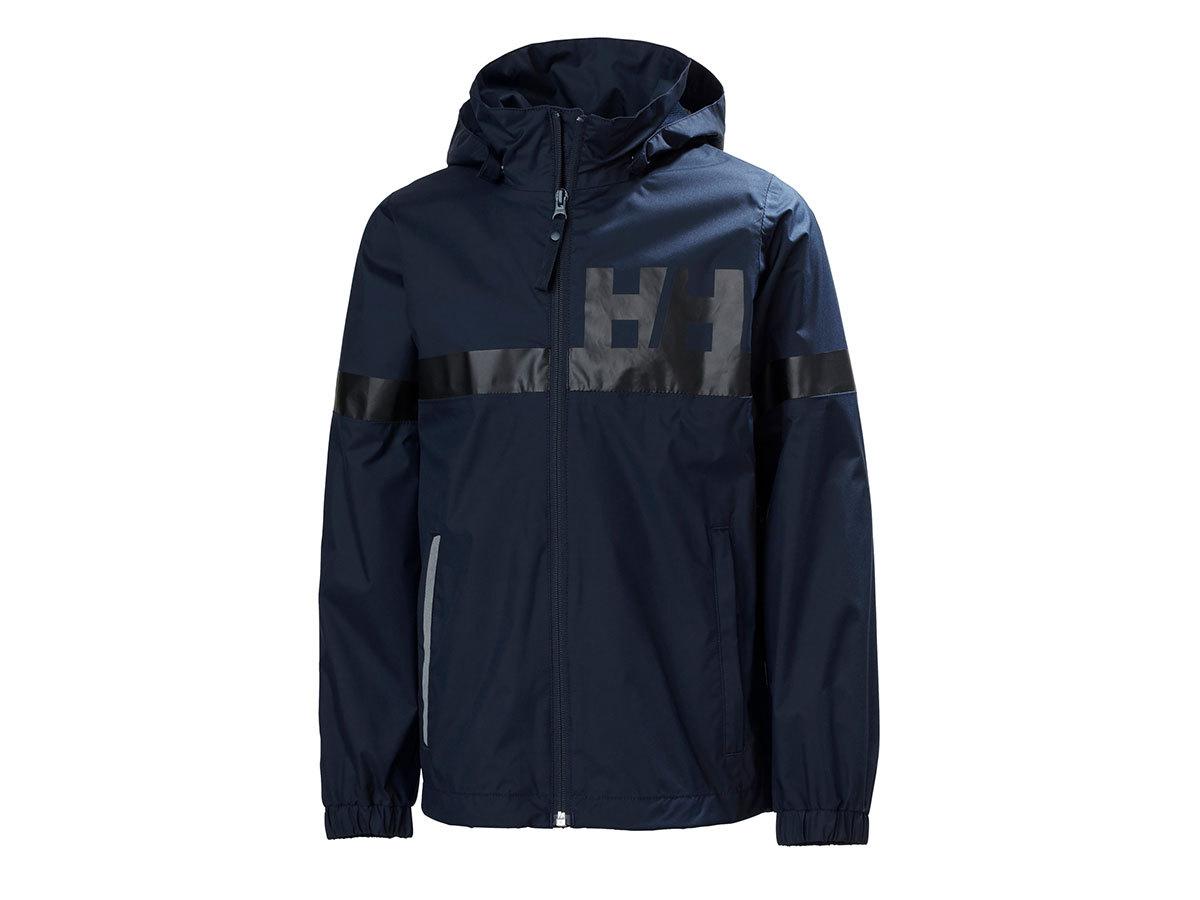 Helly Hansen JR ACTIVE RAIN JACKET - NAVY - 176/16 (41696_598-16 )