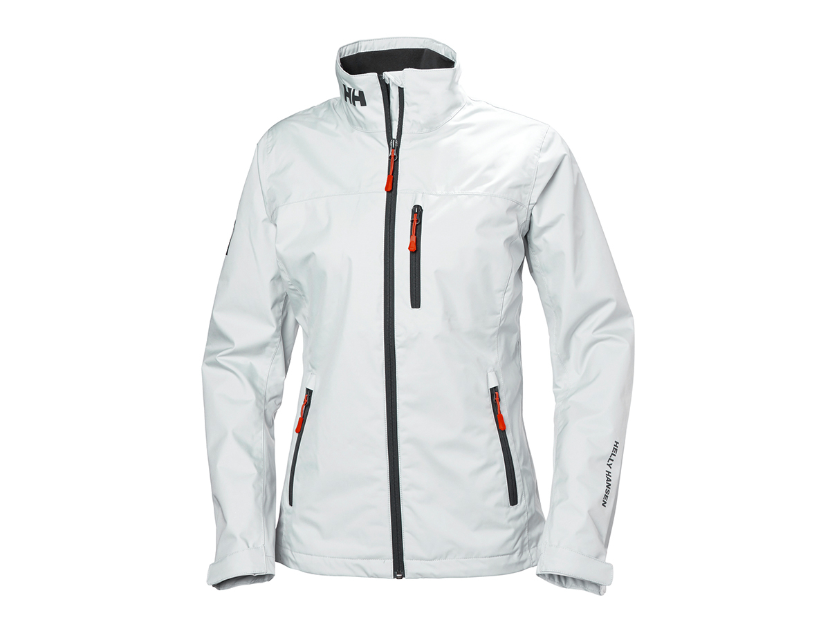 Helly Hansen W CREW MIDLAYER JACKET - WHITE - L (30317_002-L )