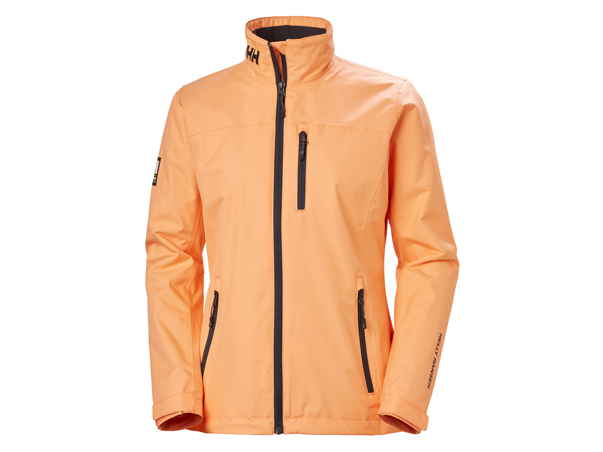 Helly Hansen W CREW MIDLAYER JACKET - MELON - XL (30317_071-XL )