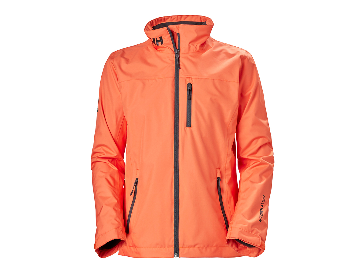 Helly Hansen W CREW MIDLAYER JACKET - FIRE CRACKER - L (30317_317-L )