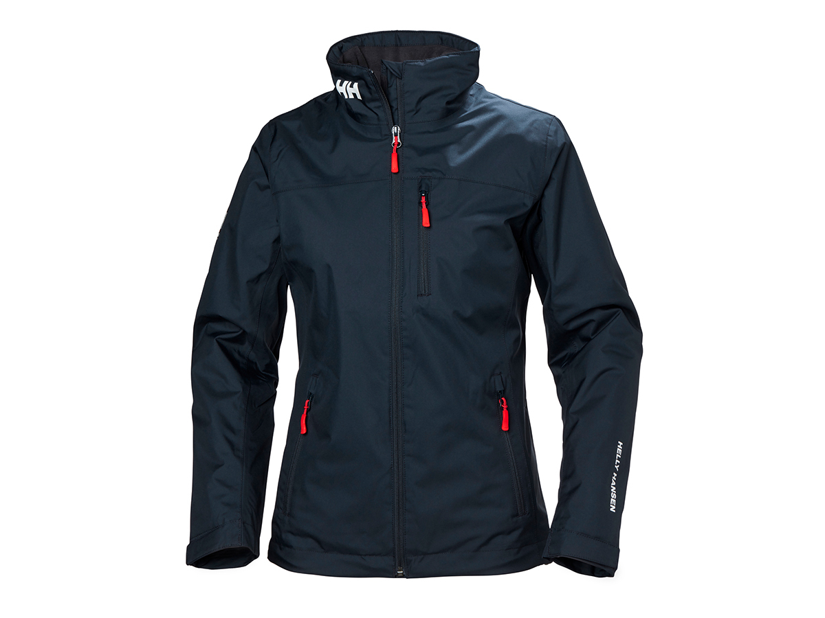 Helly Hansen W CREW MIDLAYER JACKET - NAVY - L (30317_598-L )
