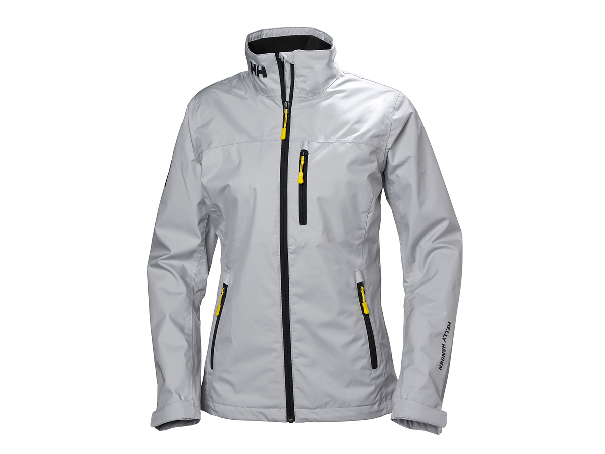 Helly Hansen W CREW MIDLAYER JACKET - GREY FOG - L (30317_853-L )