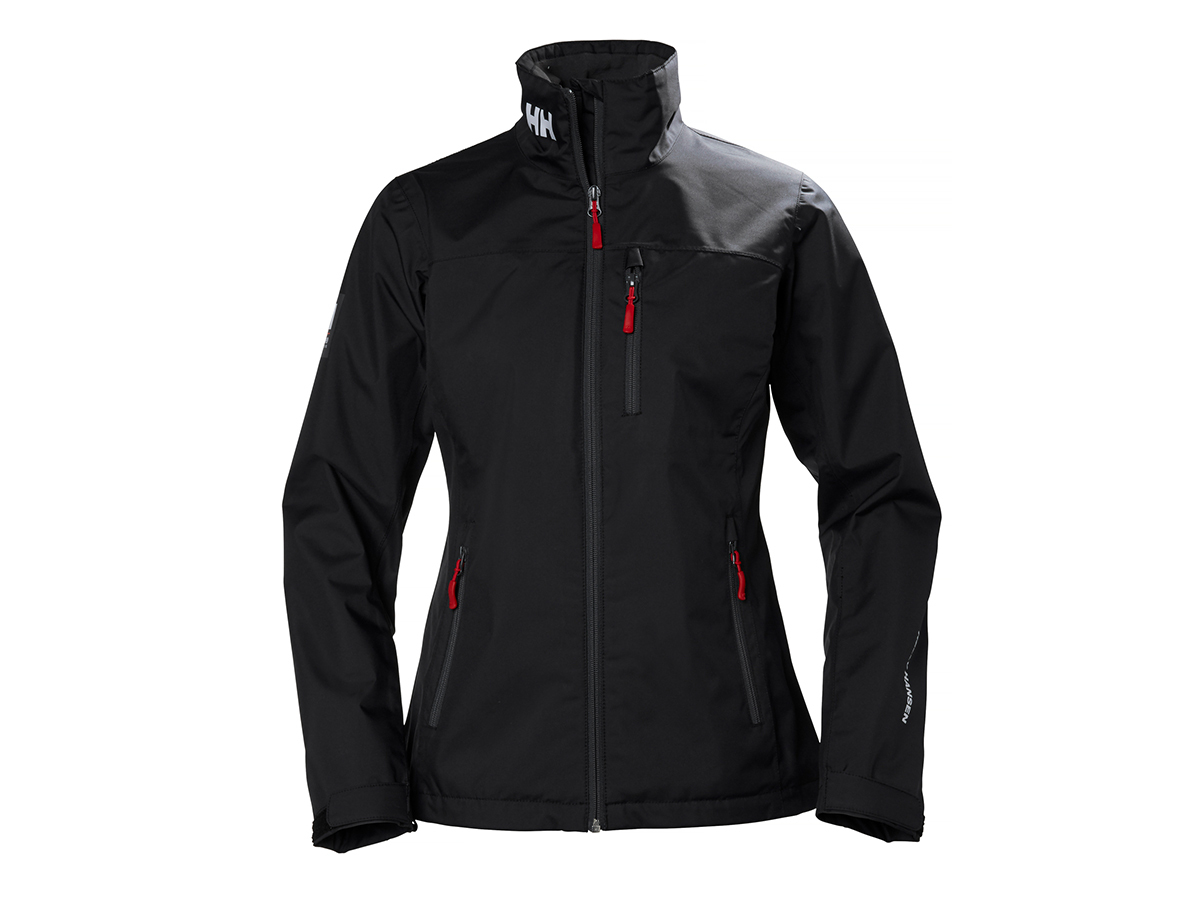 Helly Hansen W CREW MIDLAYER JACKET - BLACK - L (30317_992-L )
