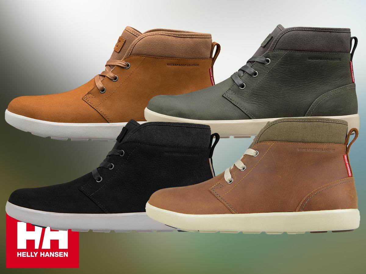 Helly Hansen GERTON férfi cipő prémium bőr felsőrésszel, szőrmével bélelve - időjárás elleni védelmet biztosít (40-46,5) - egyes termékek azonnal átvehetőek