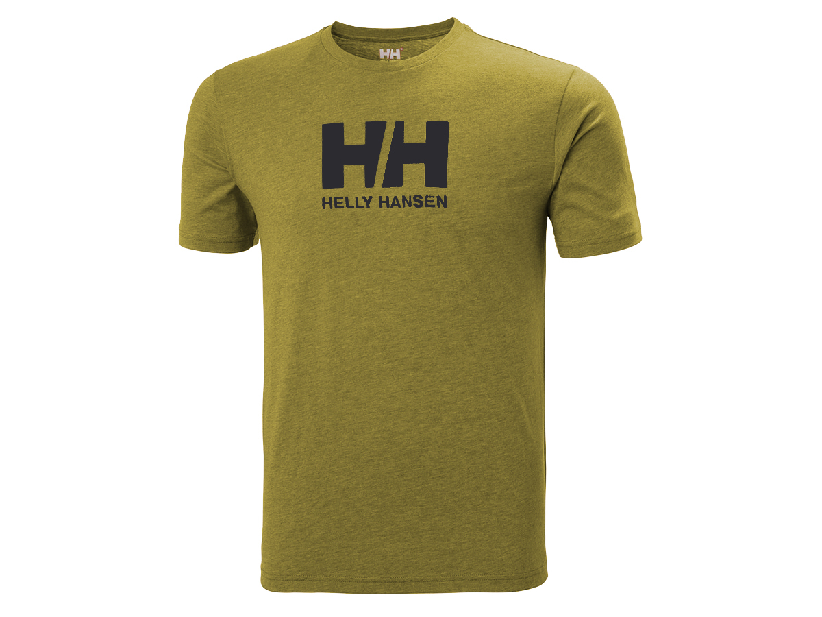 Helly Hansen HH LOGO T-SHIRT - UNIFORM GREEN MELANGE - S (33979_458-S )