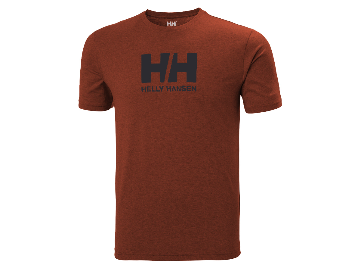 Helly Hansen HH LOGO T-SHIRT - REDWOOD MELANGE - XXL (33979_793-2XL )