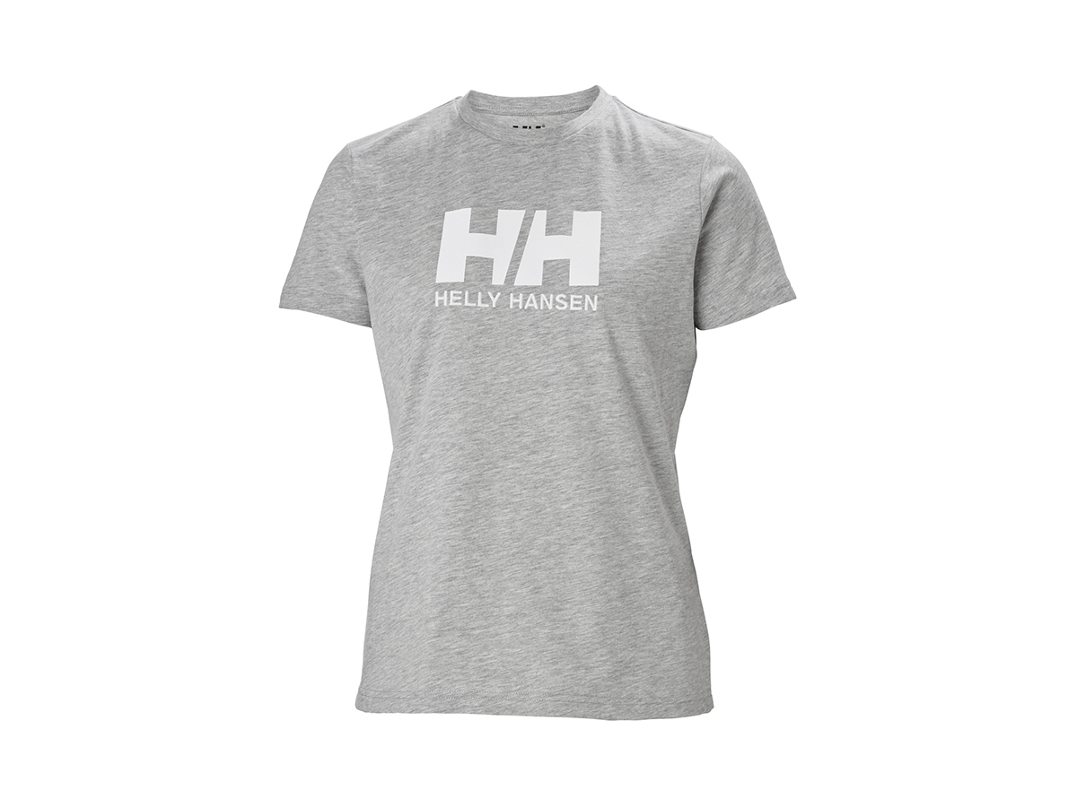 Helly Hansen W HH LOGO T-SHIRT - GREY MELANGE - L (34112_951-L )