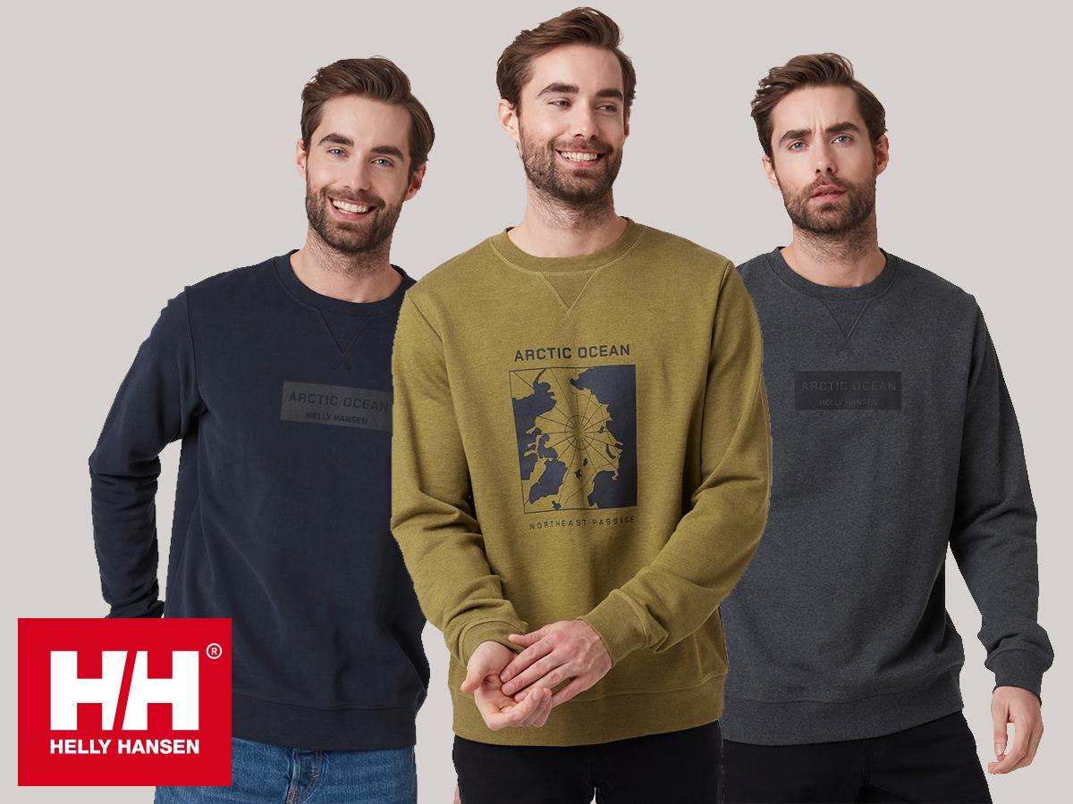 Helly Hansen ARCTIC OCEAN SWEAT férfi pulóver 100% pamut anyagból a hideg napokra