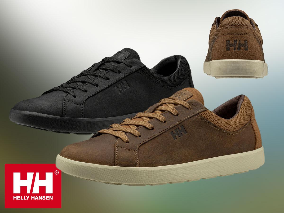 Helly Hansen VERNON LEATHER stílusos cipő férfiaknak, prémium bőr felsőrésszel, kényelmes EVA talpbetéttel